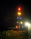 Loughie's lights, and the view of Ballycastle.