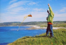 Highly Commended: 'Cian's Kite', Ruairi O Conchuir