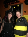 Bee-witched! (sorry!). Halloween Party in the Bar. Photograph Aoife Molloy.