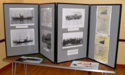 One of the exhibition displays.